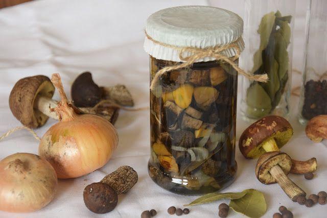 CÁCORkA: Nakládané houby