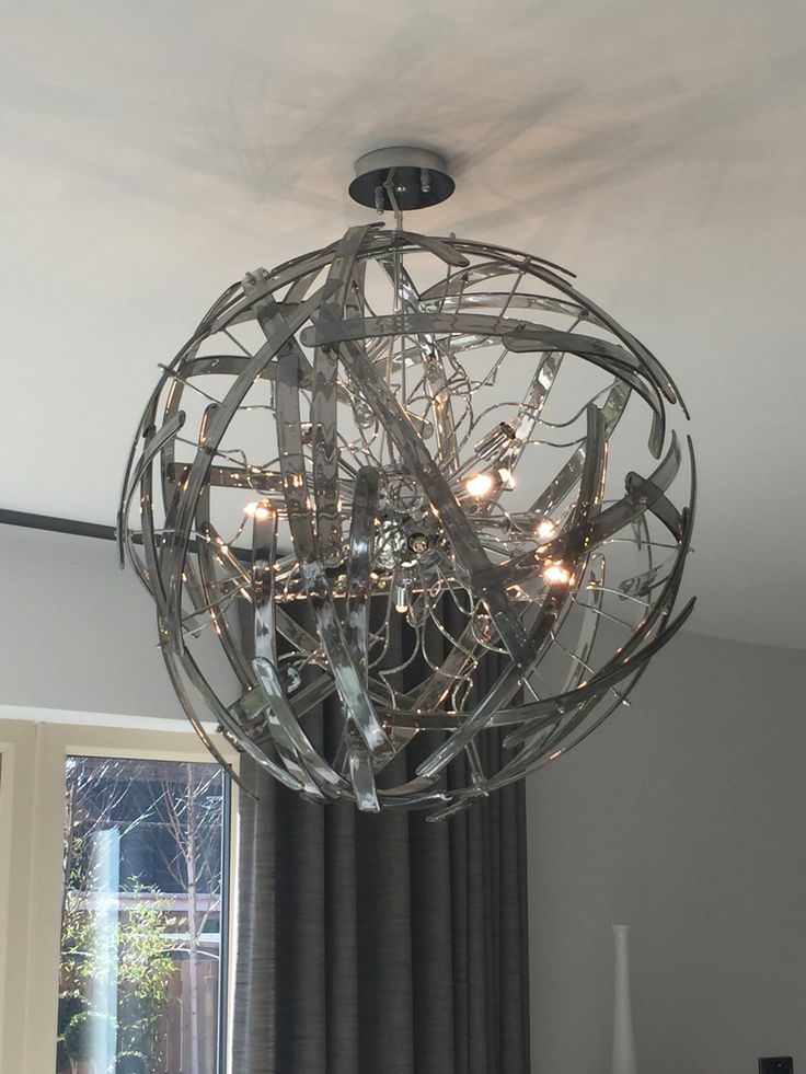 Quirky light fitting