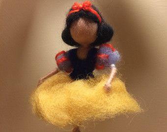 Angel de fieltro de la aguja Waldorf inspirado hadas por DreamsLab3