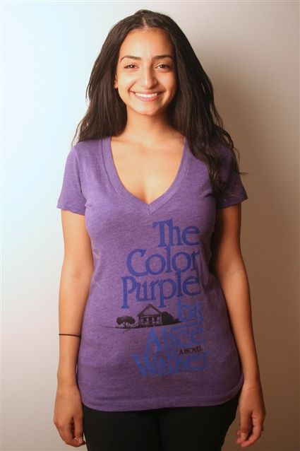 The Color Purple Shirt. I have one that I got when I saw it on Broadway but it's kind of ratty.