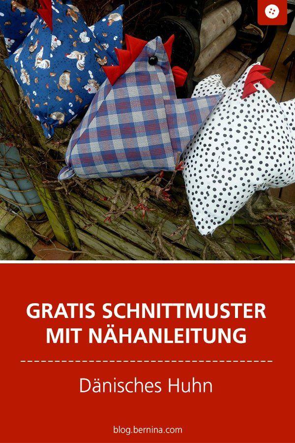 Nähanleitung zu Ostern: das dänische Huhn   – Deutsche Nähanleitungen | german sewing tutorials