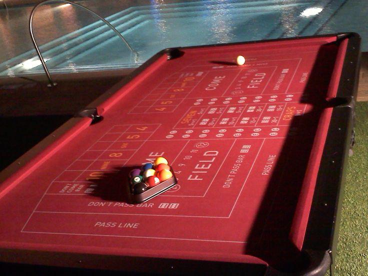 Craps Felt On Pool Table   Google Search