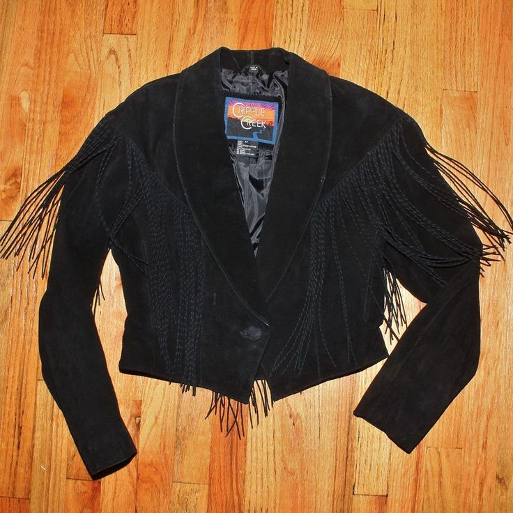cripple creek black singles Shop from the world's largest selection and best deals for women's cripple creek  cripple creek black suede leather twisted fringe  single front button .