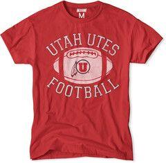 Utah Utes Football Tee