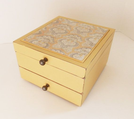 Upcycled Ladies Jewelry Box Painted Annie by TreasuresbyMarylou, $50.00