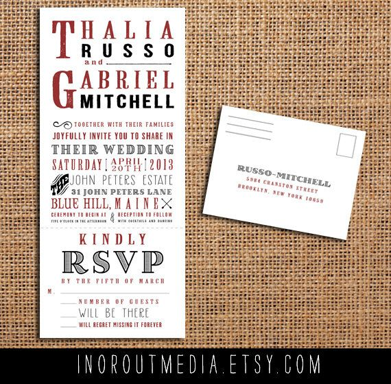 72 best images about Wedding invitations on Pinterest