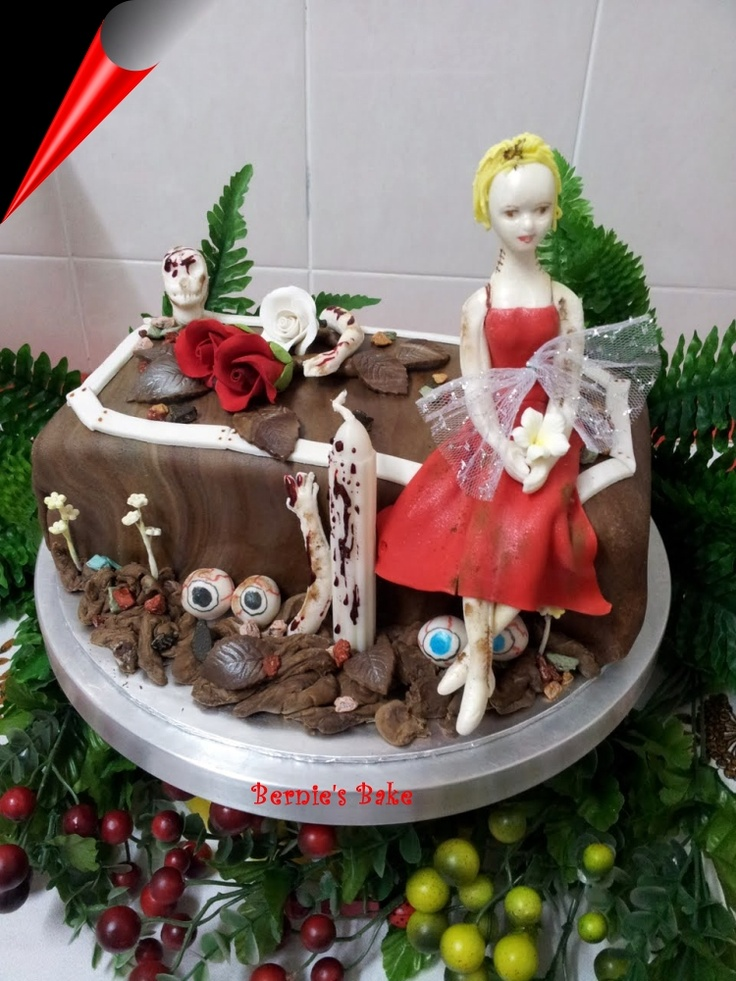 Vamp bride for Halloween