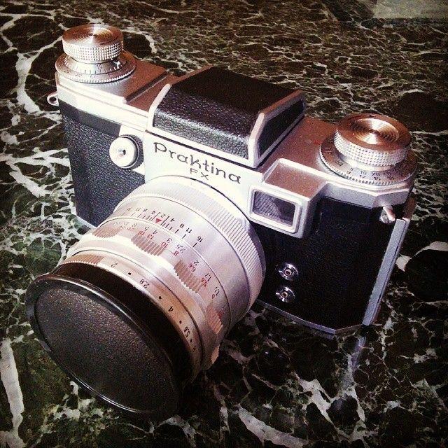 Praktina FX. /mg #ddrmuseum #photography #ddr #praktika #camera #fotoapparat