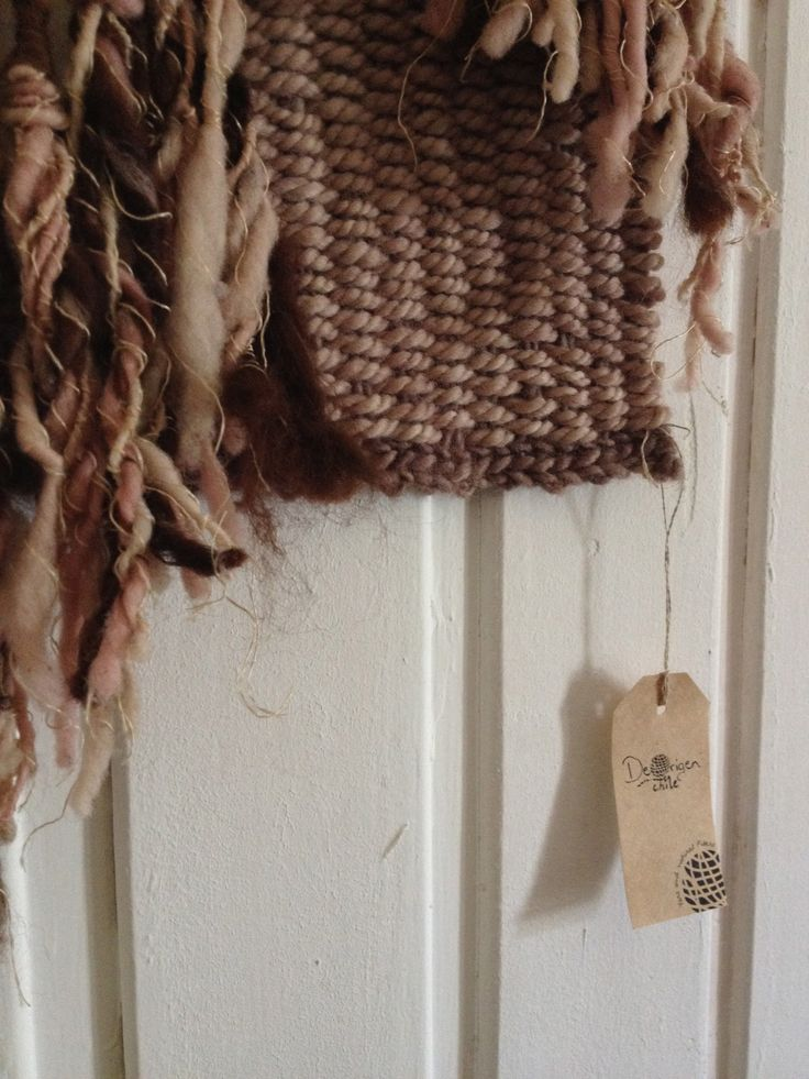 Wall hanger Alpaca and wool  #weaving