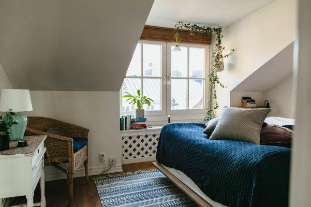 Un apartament de 3 camere ca un vis frumos intr-o mansarda- Inspiratie in amenajarea casei - www.povesteacasei.ro