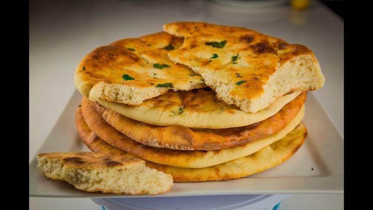 Очень прекрасный, Очень вкусный Индийский хлеб Наан