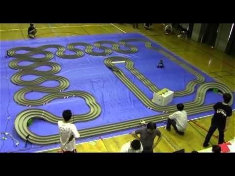 Interesting game show: RC car mini 4wd racing in Japan