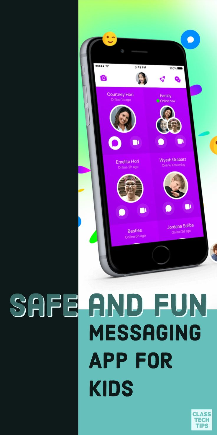 Safe and Fun Messaging App for Kids Educational