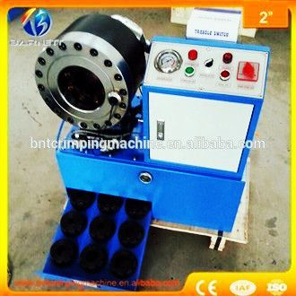 BNT68 2 inch hydraulic rubber hose crimping machine