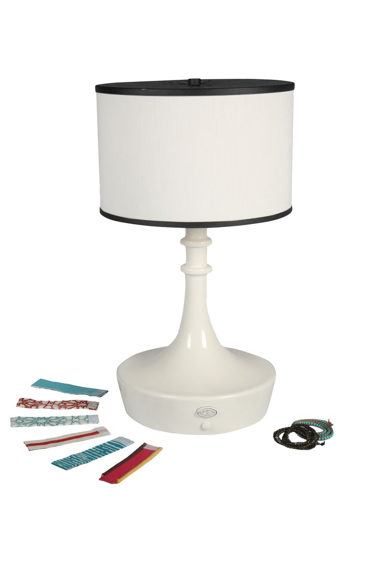 Buy Bracelet Outdoor Table Lamp by Linda Allen Designs / Live Anywhere - Made-to-Order designer Lighting from Dering Hall's collection of Contemporary Transitional Table Lighting.