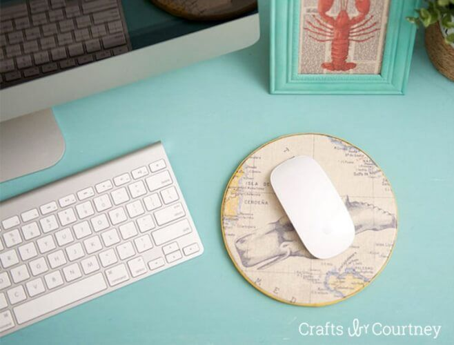 23 Simple Diy Mouse Pad That You Can Make Yourself Diy Mouse Pad