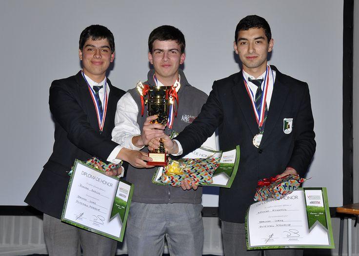 Segundo lugar en Olimpiadas Aproleche, Liceo Agrícola Vista Hermosa
