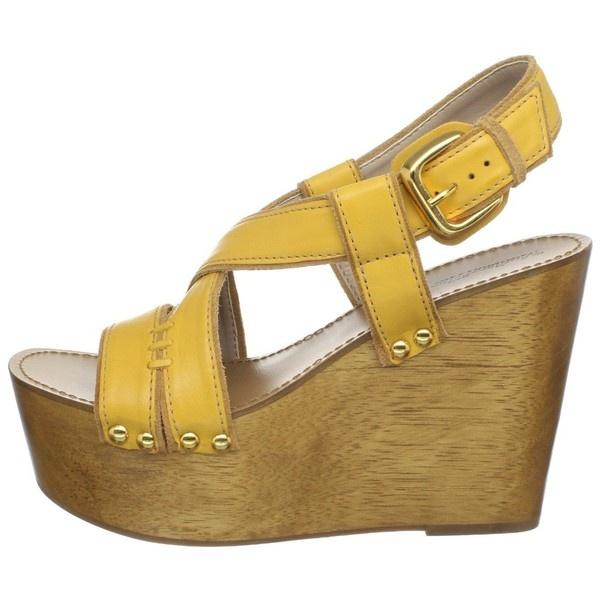 Amazon.com: Madison Harding Women's Delilah Wedge Sandal: Shoes, found on polyvore.com