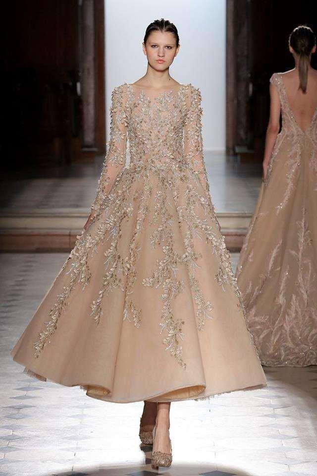 Abito da sposa champagne Tony Ward - Collezione Haute Couture primavera  estate 2018 5defde534dd