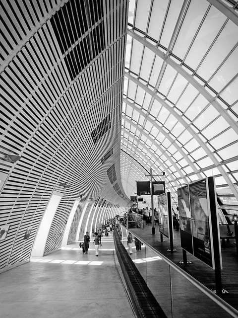 Avignon TGV, France
