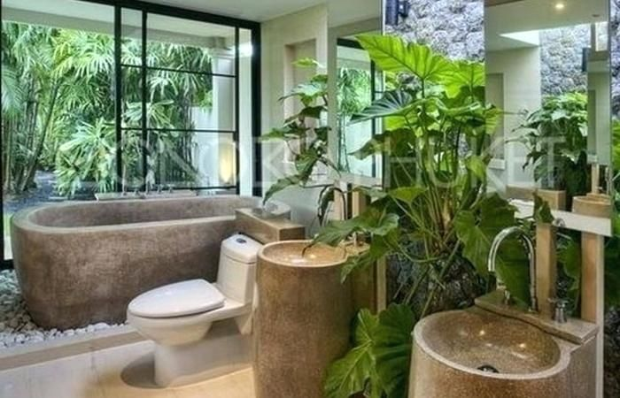 A Forest Themed Bathroom Will Make You Feel Like Youre Wandering
