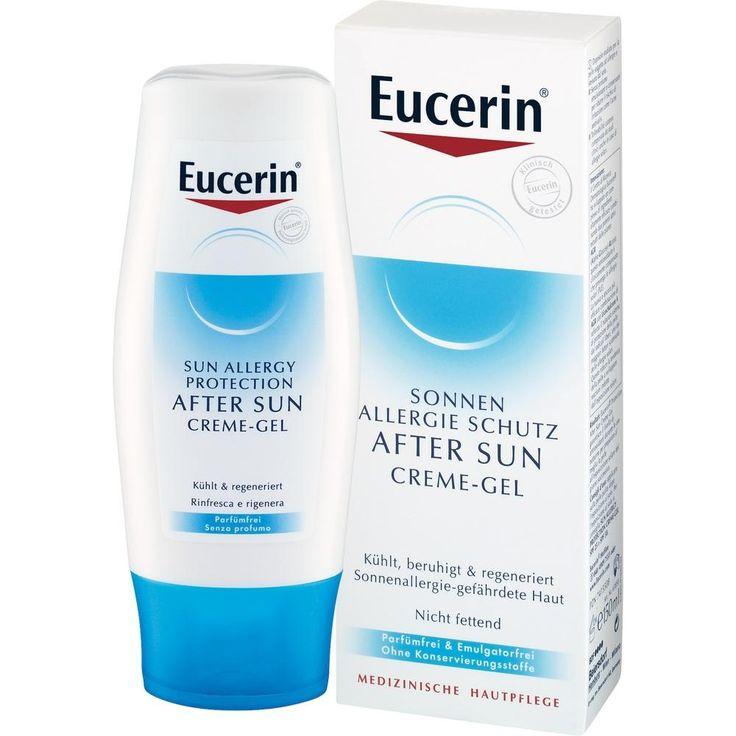 EUCERIN Sun Allergie After Sun Gel: Eucerin After Sun Pflege für Sonnenallergie-gefährdete und sonnenbelastete Haut.  Packungsinhalt: 150…