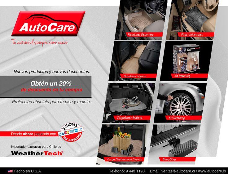 Autocare.cl Email: ventas@autocare.cl Fono: 9443 1198