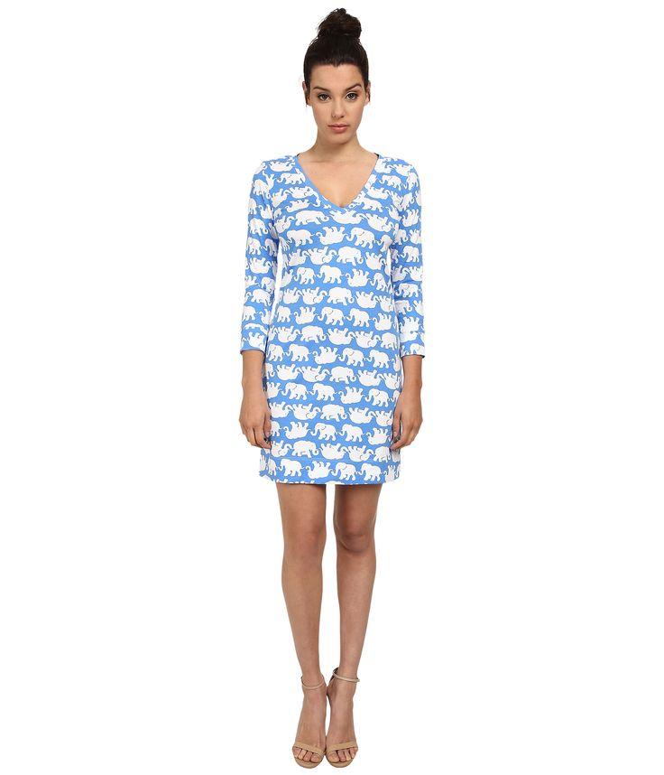 Лилли Пулитцер Кристи платье голубой залив - Zappos.com Бесплатная доставка в обоих направлениях
