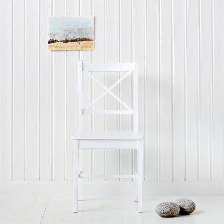Chair, white - Oliver Furniture Denmark.  www.oliverfurniture.com