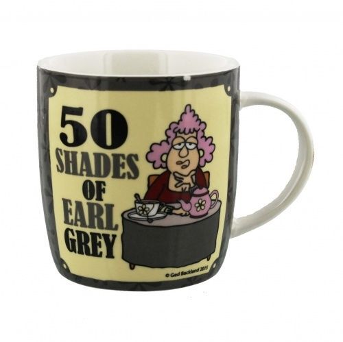 Aunty Acid 50 Shades of Earl Grey Mug - Fun gift for Friends Birthday Gift idea