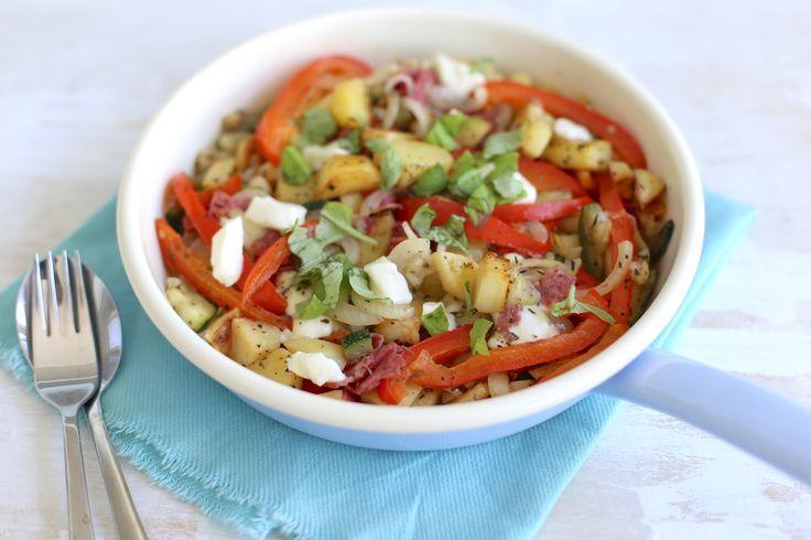 Italiaanse aardappelschotel ( video)