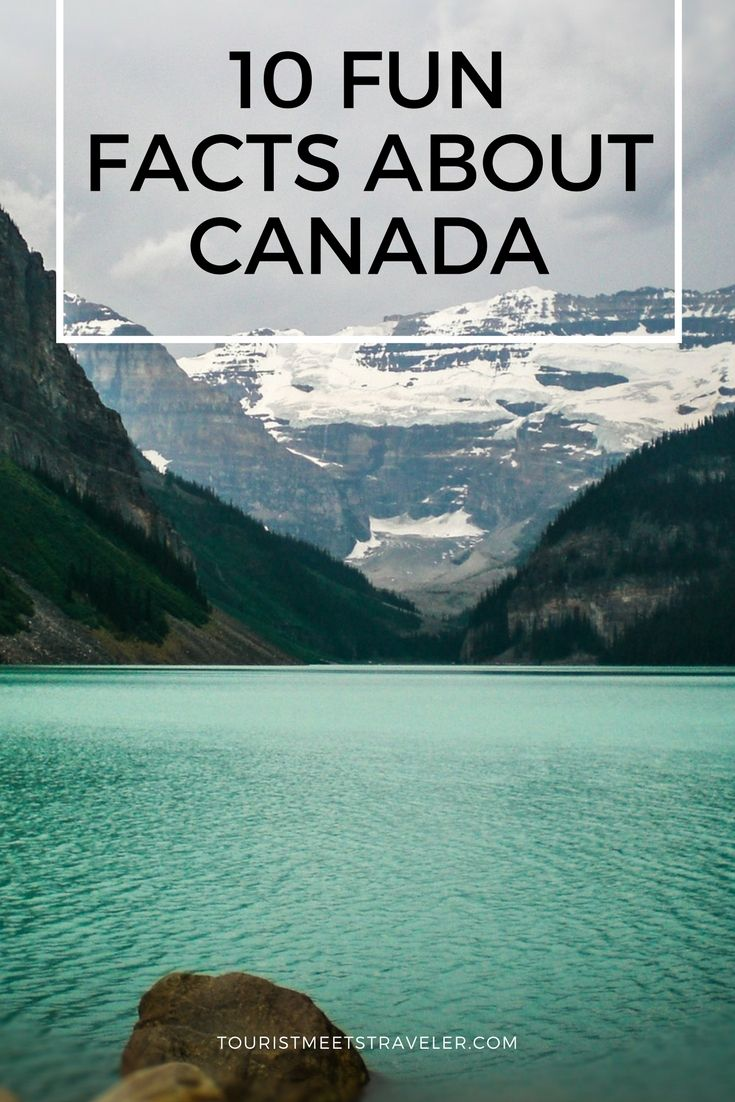 10 Fun Facts About Canada That May Surprise You #Canada150