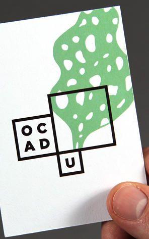Bruce Mau's Smart Art-School Logo Is A Mini Art Gallery For Student Work