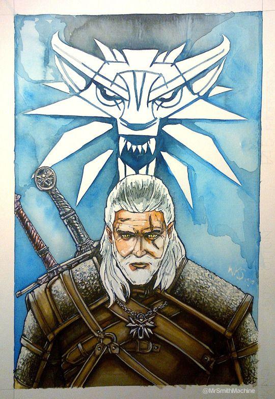 @MrSmithMachine - Geralt of Rivia - The Witcher 3