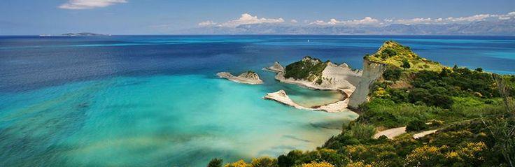 Cape Drastis beach in Corfu island, Greece CallGreece.gr