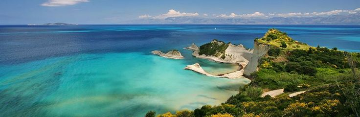 Cape Drastis beach in Corfu island, Greece CallGreece.gr