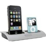 Griffin PowerDock Dual-Position Charging Station for iPhone 4 & 4S, iPod Touch, iPod Nano (Silver) (Electronics)By Griffin Technology