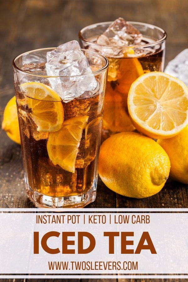 Instant Pot Iced Tea Pressure Cooker Iced Tea Best Iced Tea