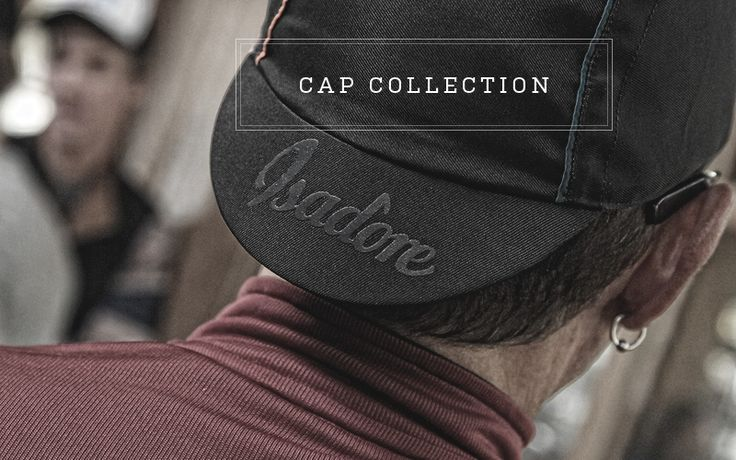 6. Isadore Cap - In 2015 we will be able to bring you the cap together with one more additional color combination. #isadoreapparel #roadisthewayoflife #cyclingmemories
