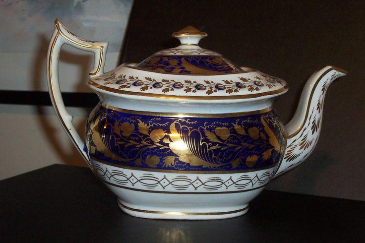 Georgian era teapot from a teaset