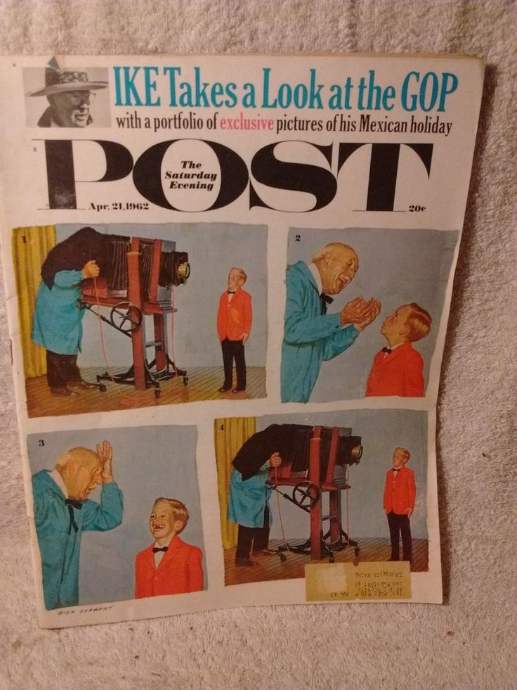 The Saturday Evening Post April 24 1962 , vol. 235 no.16