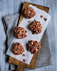 Milk Chocolate, Nut and Raisin Clusters Recipe on Food & Wine