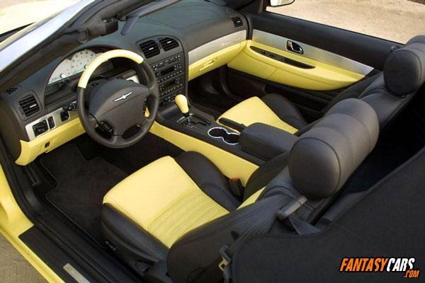 2002 thunderbird interior
