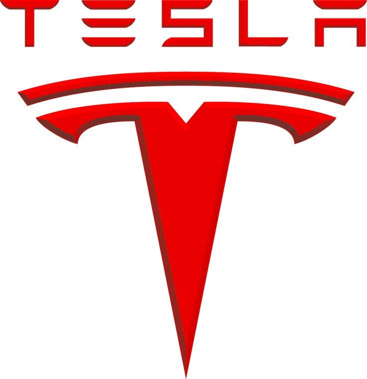 Logo Tesla Bilemblem Pinterest