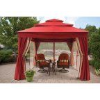 Free Shipping. Buy Better Homes and Gardens Sullivan Pointe 3 Person Outdoor Swing with Gazebo, Green at Walmart.com