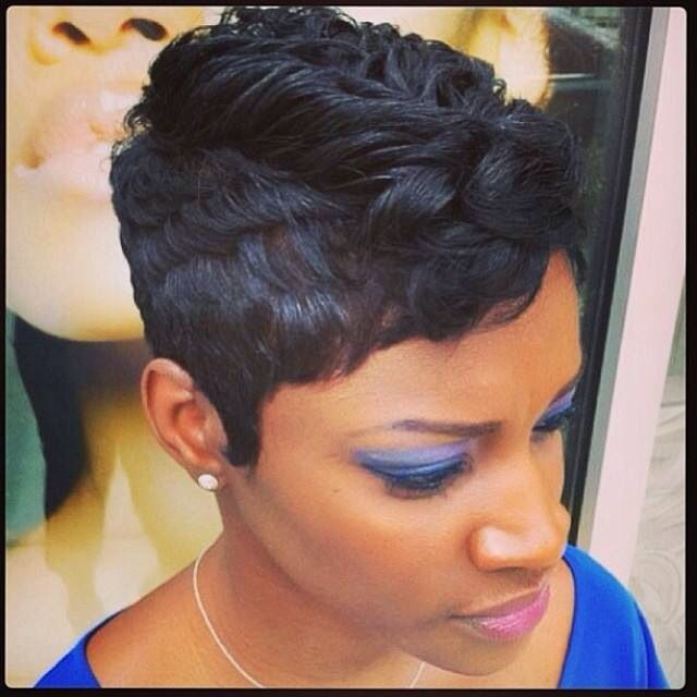 Short African American Hairstyles Best 100 Best Hair Images On Pinterest  Short Hair Short Bobs And
