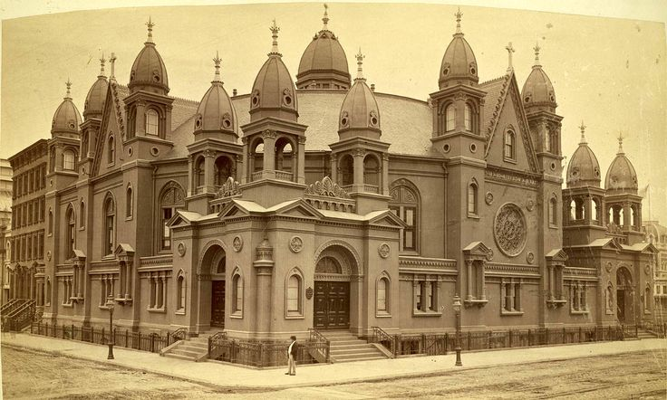 The Church of the Disciples, 1875, New York City