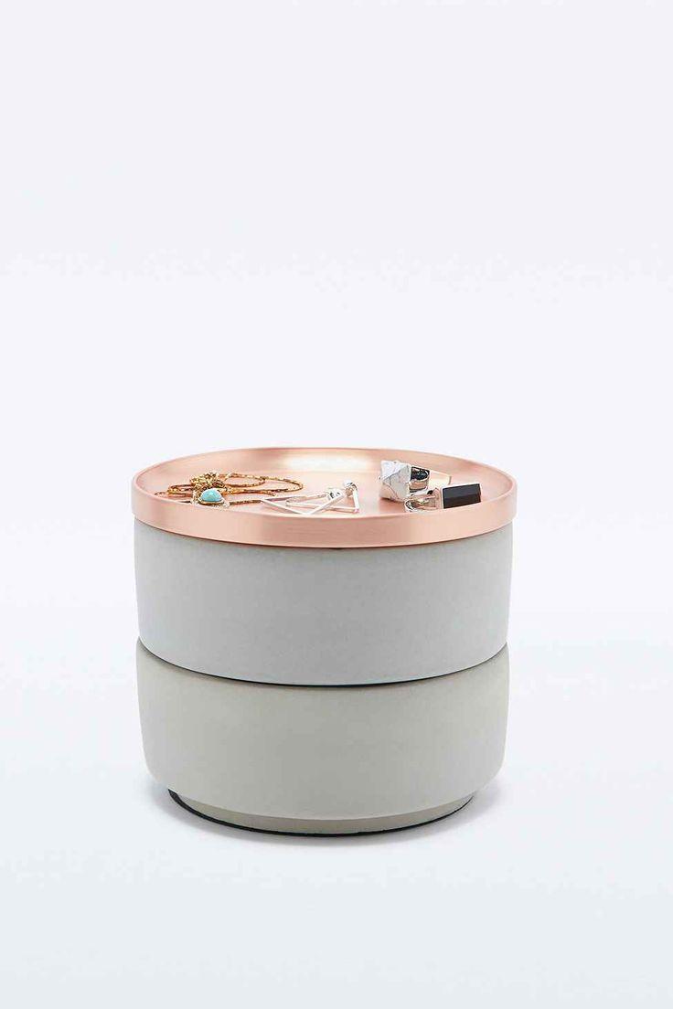 Boîte à bijoux superposable couleur cuivre - Urban Outfitters