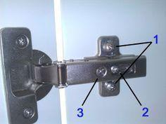 ¿Cómo regular las bisagras de tus armarios? Te damos unos consejos en el blog...