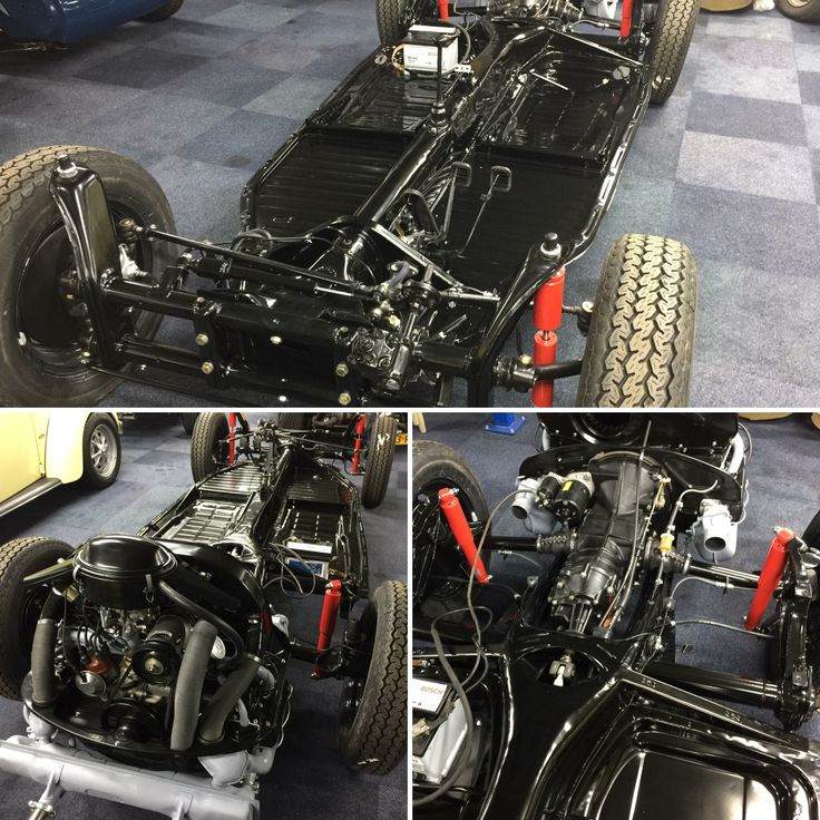 Cabrio 1500 chassis afgerond en klaar voor de body! #beetle